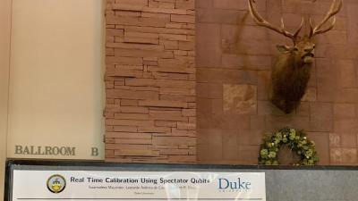 Spectator qubit poster at APQC